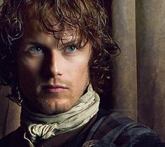 Yowzer, this picture is enough to make me forget my mother raised a lady @SamHeughan