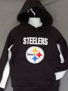 694417bbe Steelers Hoodie Youth Sizes NFL Team Apparel Old Navy Sweatshirt Pittsburgh  New  OldNavy  PittsburghSteelers