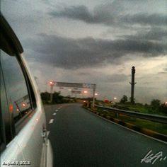 No more #storm ? But we saw #thunder #lightning #rainy #season #sky #cloud #philippines #フィリピン