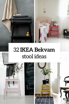 How To Rock IKEA Bekvam Stool In Your Interiors: 32 Ideas