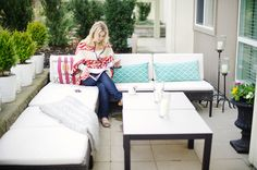 Style at Home: Monika Of The Doctors Closet. Photographed by Ellen Ho of Hong Photography
