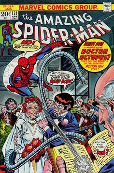 Classic cheese: Doc Ock marries Aunt May...