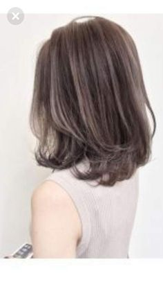 Ideas For Hair Color Asian Ombre Long Bobs Medium Hair Cuts, Short Hair Cuts, Medium Hair Styles, Curly Hair Styles, Korean Short Hair, Korean Girl, Korean Haircut Medium, Hair Color Asian, Asian Hair Highlights