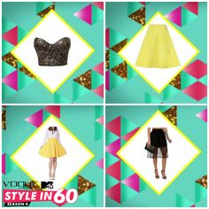 Ladies, this season, pleated skirts are taking street style by the storm! Want some tips on how to get your pleats neat? Watch Vogue Eyewear MTV #Stylein60: mtvindia.com/style