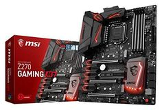 awesome MSI Enthusiastic Gaming Intel Z270 DDR4 VR Ready HDMI USB 3 ATX Motherboard (Z270 GAMING M7)