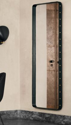 Following the reissue of Jacques Adnet's remarkable Circulaire Mirror, Gubi have launched another original 1950s Jacques Adnet design - the Adnet Rectangulaire Mirror.