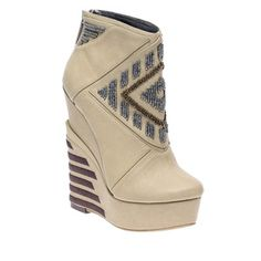 Cass Ankle Wedge Natural, $95, now featured on Fab.