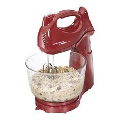 Shop for Mixers & Attachments in Kitchen Appliances. Buy products such as Hamilton Beach Power Deluxe 4 Quart Hand & Stand Mixer, Red Kitchen Mixer, Small Kitchen Appliances, Kitchen Items, Cool Kitchens, Kitchen Stuff, Kitchen Countertops, Kitchen Decor, Red Kitchen, Awesome Kitchen