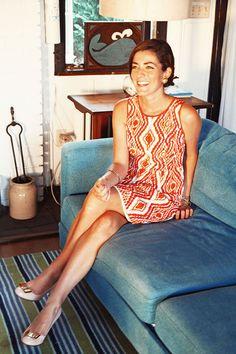 summer style | shoshanna dress | kate spade shoes | sarah vickers