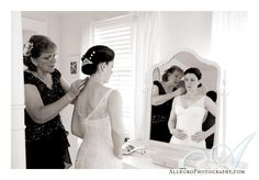 mom helping bride - Google Search