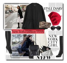 """""""Pack for NYFW"""" by sweta-gupta ❤ liked on Polyvore featuring H&M, Smashbox, Yves Saint Laurent, women's clothing, women, female, woman, misses, juniors and NYFW"""