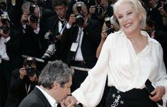 Avec Alain Chabat le 21 mai 2007 à Cannes.