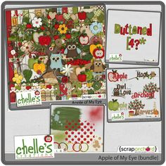 Apple of My Eye {bundle} by Chelle's Creations