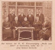 Gorinchem - Bestuur R.K. Kiesvereeniging Recht voor Allen 25 jarig jubileum   by…