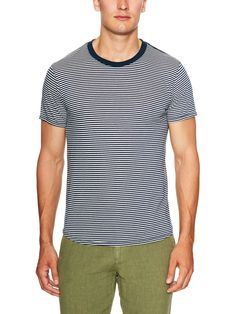 Spencer Stripe Cotton T-Shirt