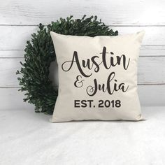 pillow cover Custom off white burlap You keep me safe Grey or custom color