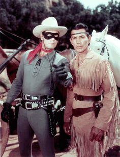 Clayton Moore & Jay Silverheels- The ONLY REAL Lone Ranger & Tonto for me
