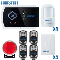 100.00$  Buy now - http://alilf1.shopchina.info/go.php?t=32336052013 - Latest arrival Russion/english/spanish/french GSM HOME BURGLAR ALARM SYSTEM New Version With IOS Andriod APP function control 100.00$ #buymethat