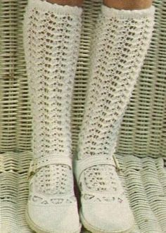 """I remember having white """"holy"""" knee socks like these except out of nylon material not """"yarn-like"""" 1970s Childhood, Childhood Days, Good Old Times, The Good Old Days, Long White Socks, Vintage Toys, Retro Vintage, Images Vintage, Retro Mode"""
