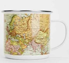 world map mug! http://www.myluxefinds.com/2015/02/gift-ideas-for-those-with-wanderlust.html