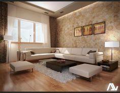 Apartament din Campina - frumusetea decorului minimalist pus in valoare cu materiale naturale - imaginea 1