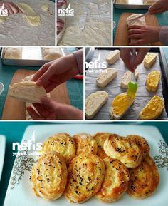 Buzluk Böreği (Kurtarıcı Börek) Tarifi nasıl yapılır? 10.536 kişinin defterindeki bu tarifin resimli anlatımı ve deneyenlerin fotoğrafları burada. Yazar: KÜBRA PELVAN Pastry Recipes, Doughnut, Baked Potato, French Toast, Food And Drink, Baking, Breakfast, Cake, Ethnic Recipes