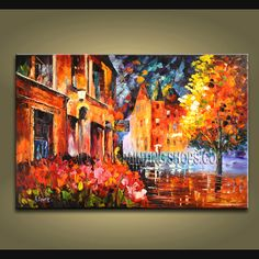 Decorate your home or office with our hand-painted art paintings of Landscape in Palette Knife style. Why settle for a print, poster, giclee or canvas transfer when you can enhance your walls with this genuine art painting at up to below gallery Modern Canvas Art, Modern Art Paintings, Contemporary Abstract Art, Abstract Wall Art, Modern Wall Art, Large Wall Art, Abstract Paintings, Modern Contemporary, Oil Painting Gallery