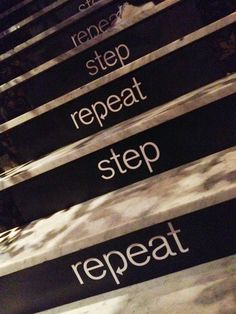 Watch your step via @EileenOgg
