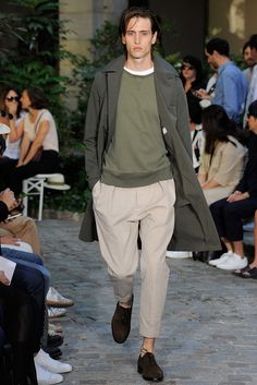 Officine Generale Spring 2016 Menswear Collection Photos - Vogue