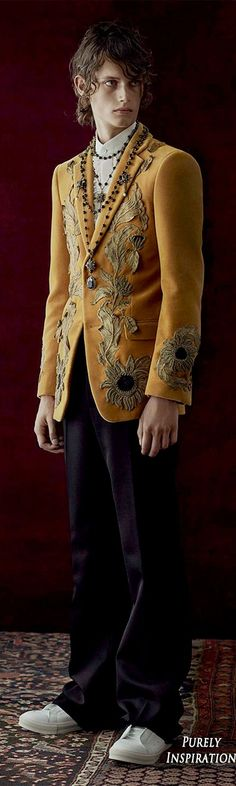 Alexander McQueen SS2017 Menswear | Purely Inspiration