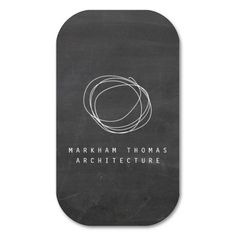 Designer Scribble Logo on Black Chalkboard Business Cards. This is a fully customizable business card and available on several paper types for your needs. You can upload your own image or use the image as is. Just click this template to get started!