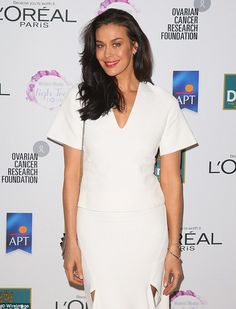 40 Going with the flow: Megan Gale has opened up to body+soul at the weekend, revealing she i...