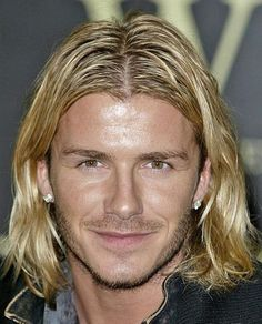 Very Long Hairstyles for Men: David Beckham Layered Long Hairstyles For Men Hipsterwall ~ frauenfrisur.com Hairstyles Inspiration