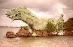 """Dragon Point at the southernmost tip of Merritt Island where the Indian River and Banana River meet. """"Annie"""" seen here in collapsed in Brevard County Florida, Florida Trail, Florida City, Moving To Florida, Old Florida, Vintage Florida, Florida 2017, Florida Vacation"""