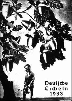 Bellotas nazis, 1933.