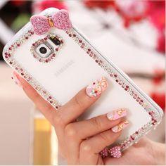 Cute Crystal Bling Samsung Galaxy Case