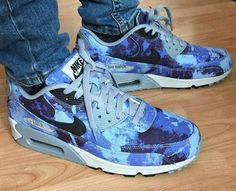 Nike Air Max 90 - tie dye blue