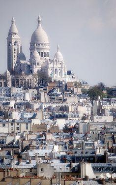 Basilique du Sacré Cœur. Paris.