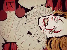 Clown Horror, Arte Horror, Horror Art, Bill Skarsgard Pennywise, Le Clown, Pennywise The Dancing Clown, Creepypasta, Dark Art, Anime Manga