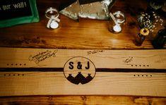 Wooden Guest Book Snowboard Individual Tipi Wedding Bridgwood Wedding Photography #Wooden #GuestBook #Snowboard #Wedding