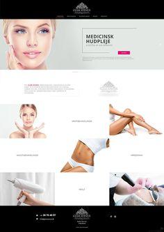 Web Design, Hollywood, Glamour, Website, Woman, Inspiration, Beauty, Beleza, Design Web