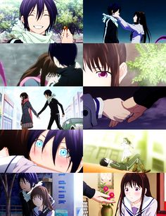 Yato x Hiyori. I ship this two soo much ♡♡ << if this isn´t canon my whole life is a lie Yukine Noragami, Yatori, Anime Qoutes, Estilo Anime, Kaichou Wa Maid Sama, Cute Anime Couples, The Darkness, Anime Ships, Anime Love
