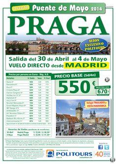PRAGA - Puente de Mayo - salida 30 de Abril desde Madrid (5d/4n) precio final 670€ ultimo minuto - http://zocotours.com/praga-puente-de-mayo-salida-30-de-abril-desde-madrid-5d4n-precio-final-670e-ultimo-minuto-10/
