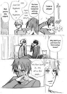 32-37 Shizuo to Izaya ga kuttuku hanashi