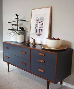 Image result for retro painted sideboard