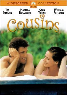 1989 Cousins is a  American romantic comedy film starring Ted Danson, Isabella Rossellini, Sean Young, William Petersen. Saw this movie again on TV recently...If you like romantic comedies you will like this one. Isabella Rossellini is so beautiful ( just like her mother) and I had forgotten the CSI star William Petersen was in this movie looking so much younger.