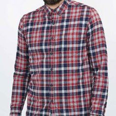 Are you looking for wholesale check plus flannel shirts with best discounted price? Have a look at Oasis Uniform and get your bulk order with affortable price. Flannel Clothing, Flannel Outfits, Mens Flannel Shirt, Casual Outfits, Smart Casual, Casual Looks, Men Casual, Dark Denim Jeans, Signature Style