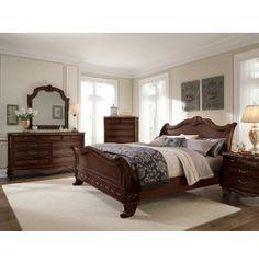 Empire II Cherry Collection | Master Bedroom | Bedrooms | Art Van Furniture - Michigan's Furniture Leader