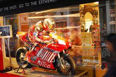 SanDisk Ducati - Harrods, London - Visual Merchandising - Retail Graphics Retail Merchandising, Ducati, Harrods, Graphics, London, Graphic Design, Retail Boutique, Retail, Charts