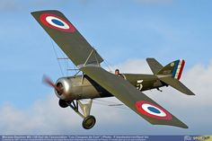 L'Avion du mois d'Avril 2015, c'est ce superbe Morane-Solnier MS. 138 Ep2 construit en 1927.